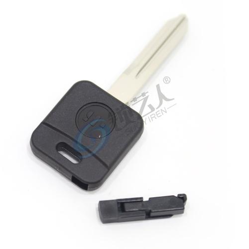 意大利进口开灵KEYLINE日产尼桑芯片钥匙壳NS34BTK NISSAN 日产尼桑直板钥匙-带芯片槽